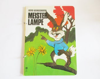 "German Vintage Childrens Book "" Meister Lampe Lustige Ostergeschichten""in GERMAN / Book for Easter"