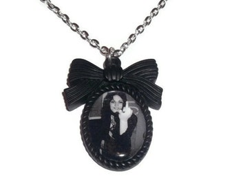 Joan Jett Necklace, The Runaways Cameo Necklace, Feminism Riot Girl