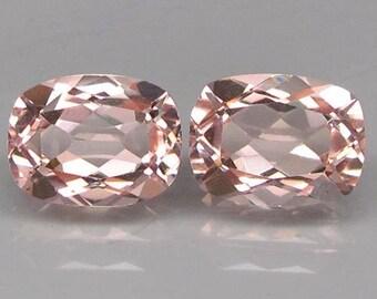 Morganite Ring 14k Rose Gold Emerald Morganite diamonds Rose gold Sterling silver emerald Engagement Ring