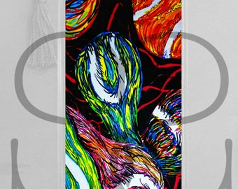 colorful, primary colors, Tennis artwork bookmark, dark rainbow, fast ball, serve