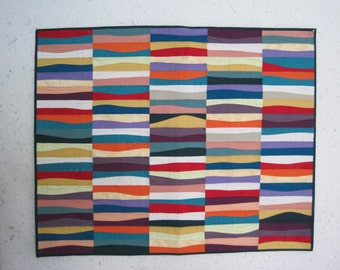Rolling Hills wall quilt