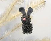 Easter Bunny Ornament rustic