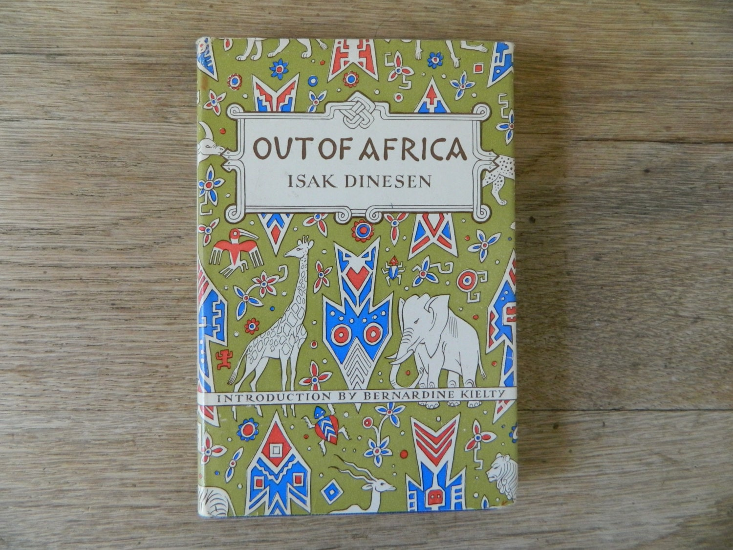 Out Of Africa By Isak Dinesen border=