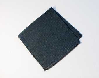 Saphire Dot Pocket Square