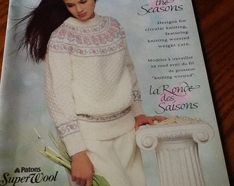 PATONS - Around the Seasons - Knitting Pattern Book