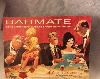 Vintage Southern Comfort Barmate Playboy Bar Guide Recipe Book