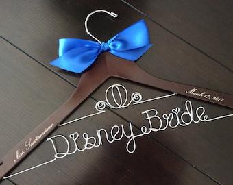 Disney hanger, Cinderella Fairytale wedding, Princess wedding hanger