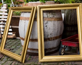 A pair of large 19th c Gilt Picture Frames, Decorative Frames, Mirror Frames, Art Frames, Antique Picture Frames