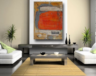 large abstract art painting canvas wall art original art painting fine art painting acrylic contemporary painting 36 x 48 by Cheryl Wasilow
