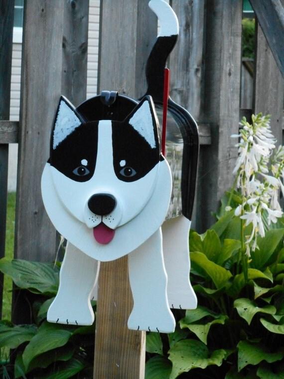 Dog Mailboxes Siberian Husky Mailbox