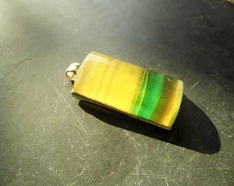 Pendant, sterling silver, fluorite, Rainbow fluorite, silver, jewelry, colorful