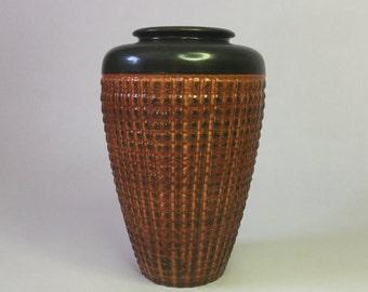 ORANGE WEST GERMAN vase