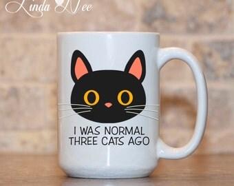 Funny Cat Mug, Cat Lover Gift, Funny Cat Gift, Cat Lover Mug, Crazy Cat Lady, Kitty Mug, Cat Owner Gift, Black Cat Coffee Mug Cute Cat MSA81