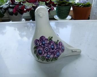 Vintage Swedish porcelain dove - Rosa Ljung - Deco Helsingborg