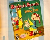 Benjamin Brownie and the Talking Doll, 1962 Whitman Top Top Tale