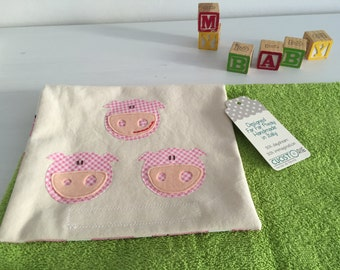 Three little pigs - Changing pad and diaper clutch for little ones