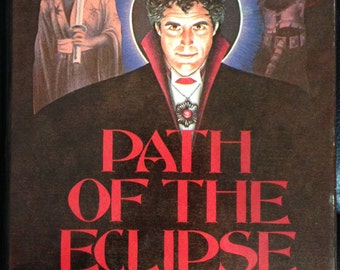 Book, Path of the Eclipse by Chelsea Quinn Yarbro.