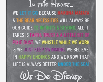 In this House we do Disney