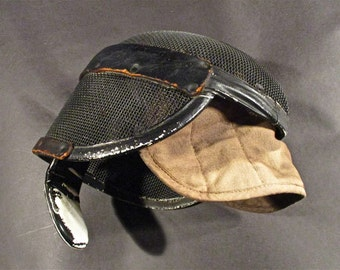 Rustic Grungy Haunted Hollywood Movie Prop Fencing Mask