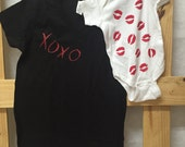 Hugs and Kisses-Mommy and Me set