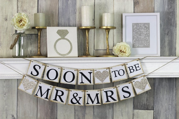 Soon To Be Mr And Mrs Engagement Party Banner Soon To Be. Modular Rooms. Fireplace Decorating. Gold House Decor. Theater Room Decor. Living Room Armoire. Cost For Interior Decorator. Decorate Water Bottle. Towel Decoration For Bathroom