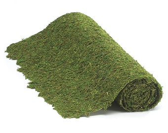 Green Moss Floral Mat Wedding Centerpiece and Craft Supplies Ideal for Rustic and Woodland Wedding Floral Arrangements and Crafts