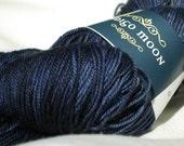 Merino Wool Yarn Blue Han...
