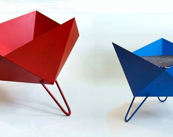 Origami Fire Pit or Grill