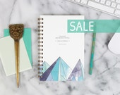 """SALE! 2016 Weekly Planner """"Little But Fierce"""" with monthly spreads, back pocket, stickers, adhesive tabs and more"""