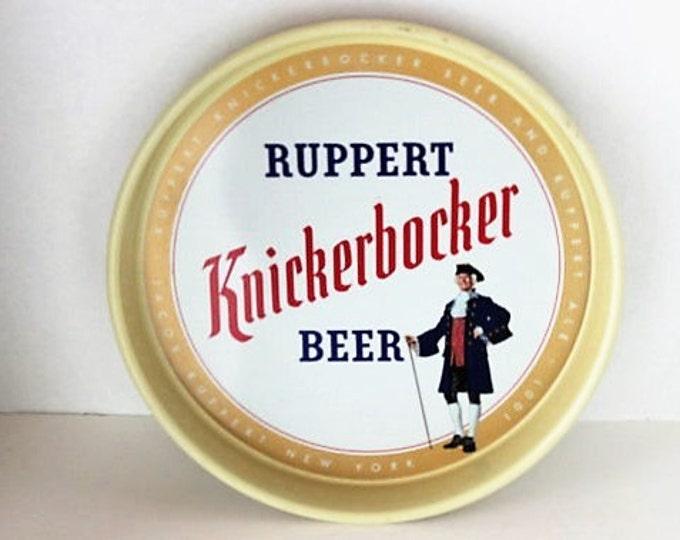 Vintage Ruppert Knickerbocker Beer Tray, Barware