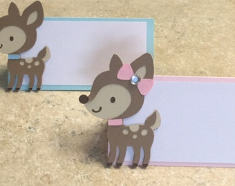 Deer Place Cards