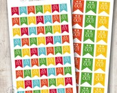 Bright Workout Banner, Set of 35 or 63