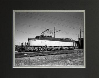 """Milwaukee Road """"Little Joe"""" Electric E74, Numbered Limited Edition Print, Philip C. Johnson Family Collection"""