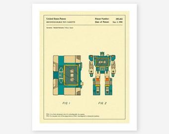 SOUNDWAVE 1986 (Giclée Fine Art Print/Photo Print/Poster Print)