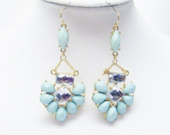 Color Crush on Gold Plate Earrings