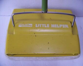 Vintage Ohio Art Bissell Little Helper Sweeper.Children's Sweeper.Children's Toys.Bissell Toy Sweeper.Ohio Art Toys.Kids Chores.Kids Toys.