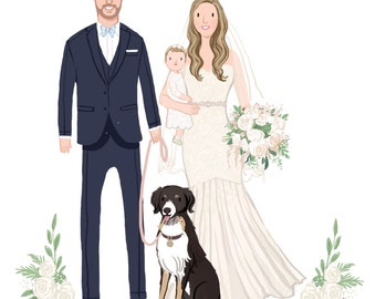 Add a Pet or Young Child to a Guest Book Poster or Save the Date
