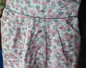 Vintage 80's Prom dress size large free shipping
