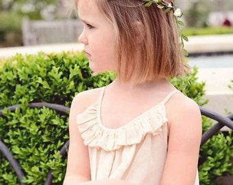Ivory Flower Crown