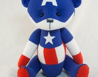 Big Captain America bear