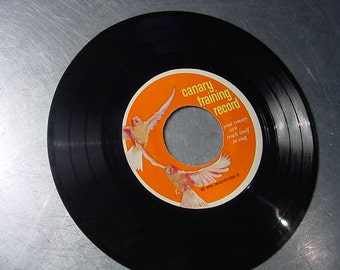 Vinyl Record CANARY TRAINING RECORD 45rpm