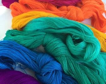 Vibrant Thin Embroidery Floss- Craft Floss- DIY