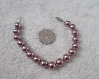 Beautiful South Seas Pearl Bracelet-Soft Lavender