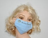 Surgical mask, Be cool, I'm not sick...., cotton mouth mask,mask, eco friendly, fun stuff, Hospital worker