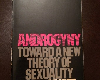 SALE - Androgyny: Toward a New Theory of Sexuality by June Singer - vintage paperback book - 1977 - psychology - carl jung - ex. condition