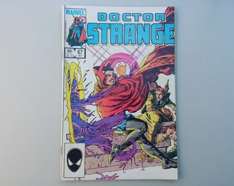 Dr Strange 67 / 1984 / Vintage Marvel comics / copper age / Marvel superheroes / 80s pop culture / geekery