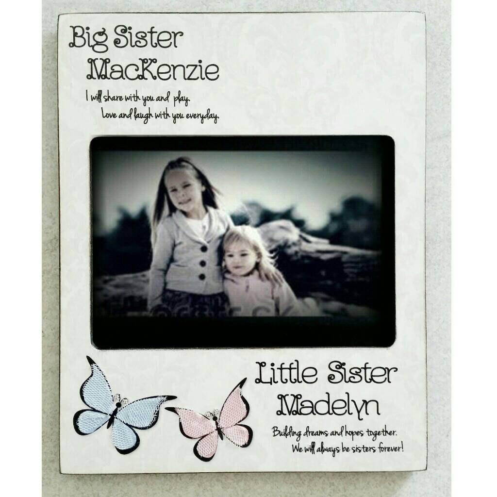 Fantastic Big Sister Little Sister Picture Frame Composition ...