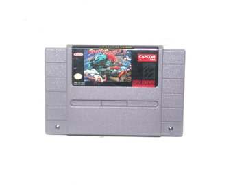 Vintage 1992 Street Fighter II Nintendo SNES, Nintendo Games, Vintage Toys, Antique Alchemy