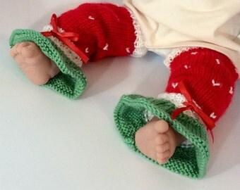 Baby Strawberry Legwarmers