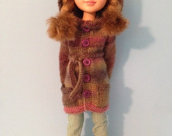 Hooded Cardigan for 18 inch BFC doll